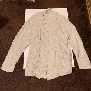 Sweaters - (Women's) oversized open front cardigan size L